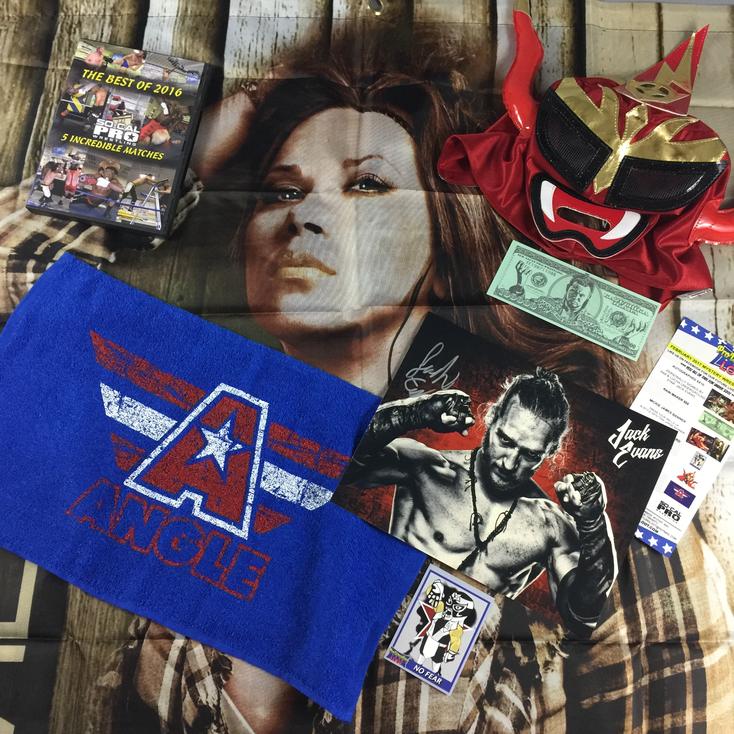 Pro Wrestling Loot February 2017 Subscription Box Review + Coupon