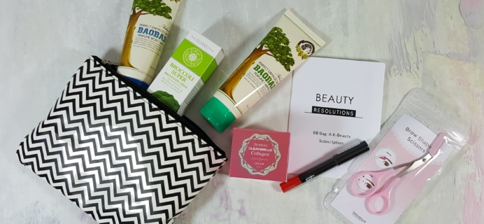 Beauteque BB Bag Subscription Box Review + Coupon – January 2017