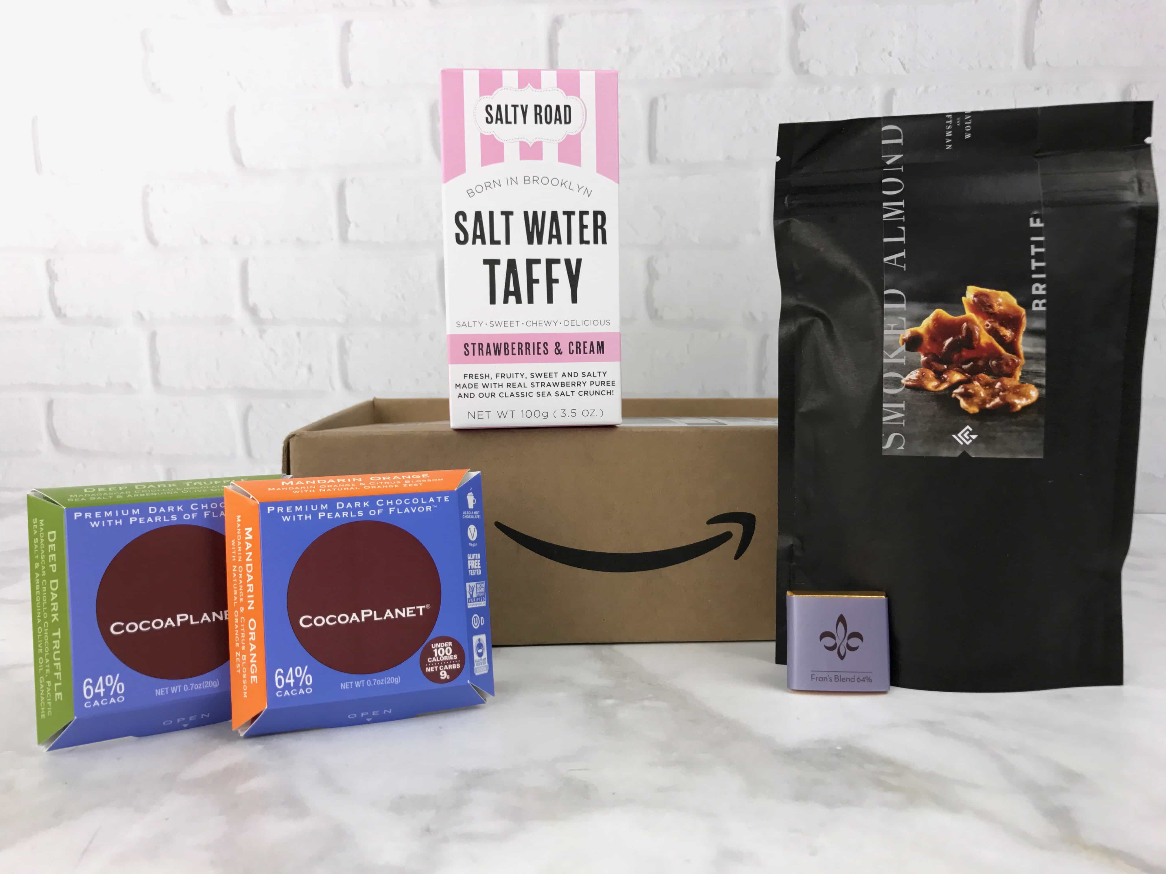 Amazon Prime Surprise Sweets Box  February 2017 Review #2
