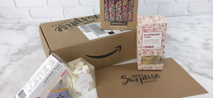 Amazon Prime Surprise Sweets Box Review – February 2017