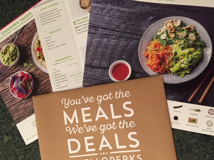 Hello Fresh Vegetarian February 2017 Subscription Box Review Coupon Hello Subscription