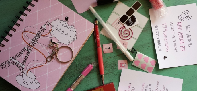 Holly Journals February 2017 Subscription Box Review + Coupon