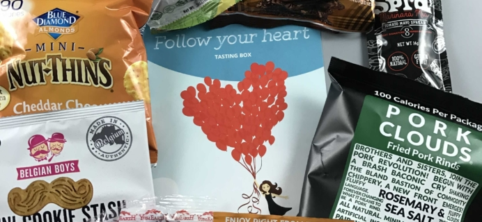 Love With Food February 2017 Tasting Box Review + Coupon!