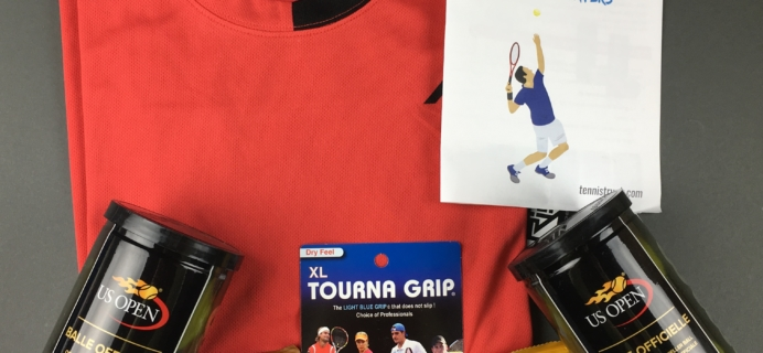 Tennis Trunk February 2017 Subscription Box Review & Coupon