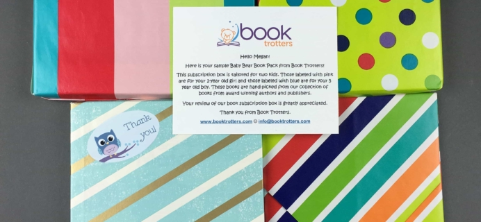 Book Trotters Baby Bear Book Pack February 2017 Subscription Box Review + Coupon
