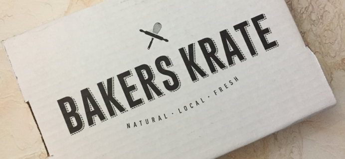 Bakers Krate January 2017 Subscription Box Review & Coupon