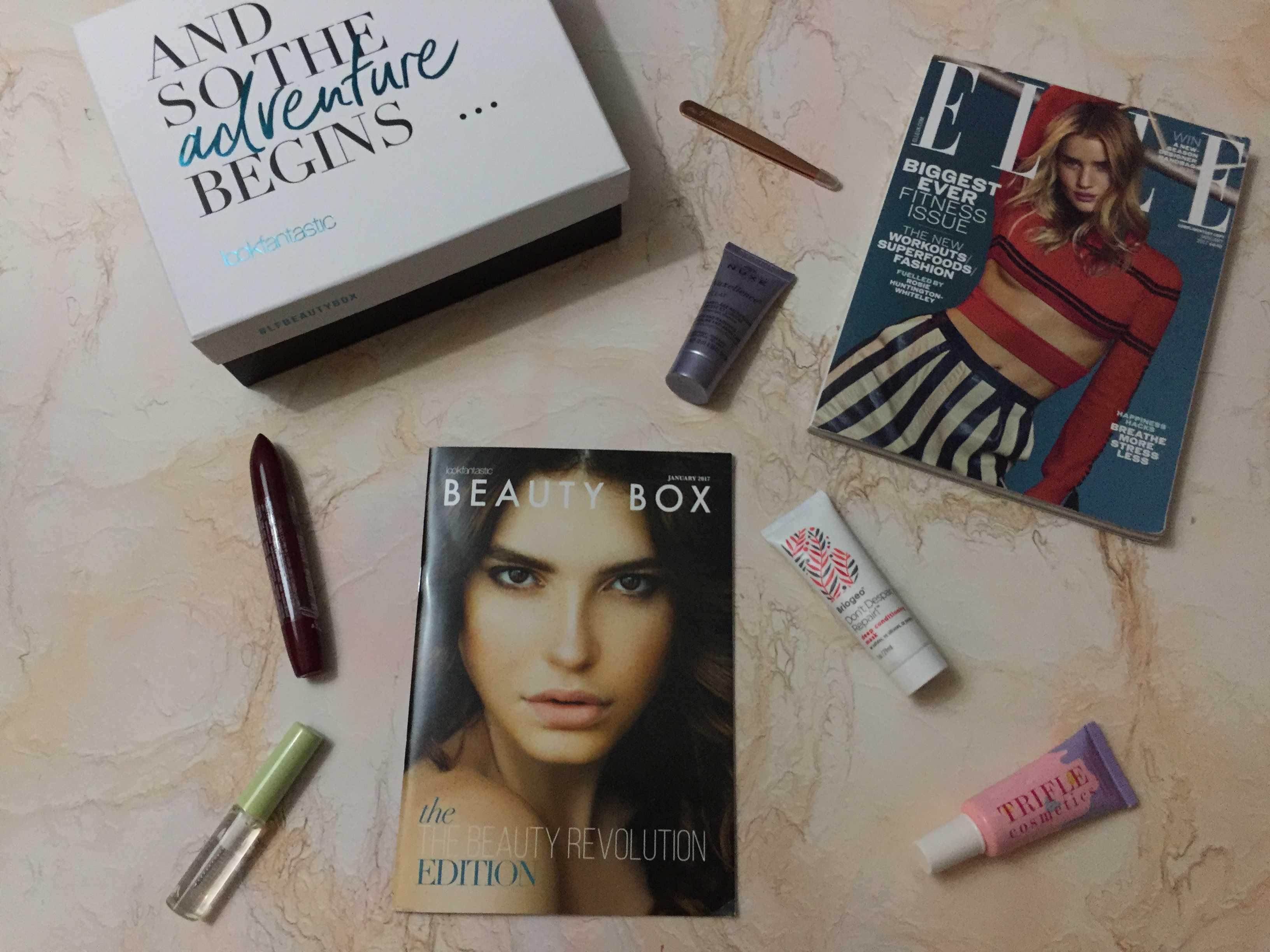 Look Fantastic January 2017 Subscription Box Review
