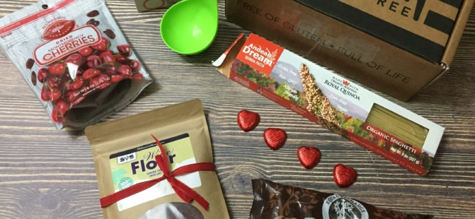 American Gluten-Free February 2017 Subscription Box Review + Coupon