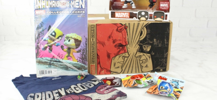 Marvel Collector Corps February 2017 Subscription Box Review – SUPERHERO SHOWDOWNS!