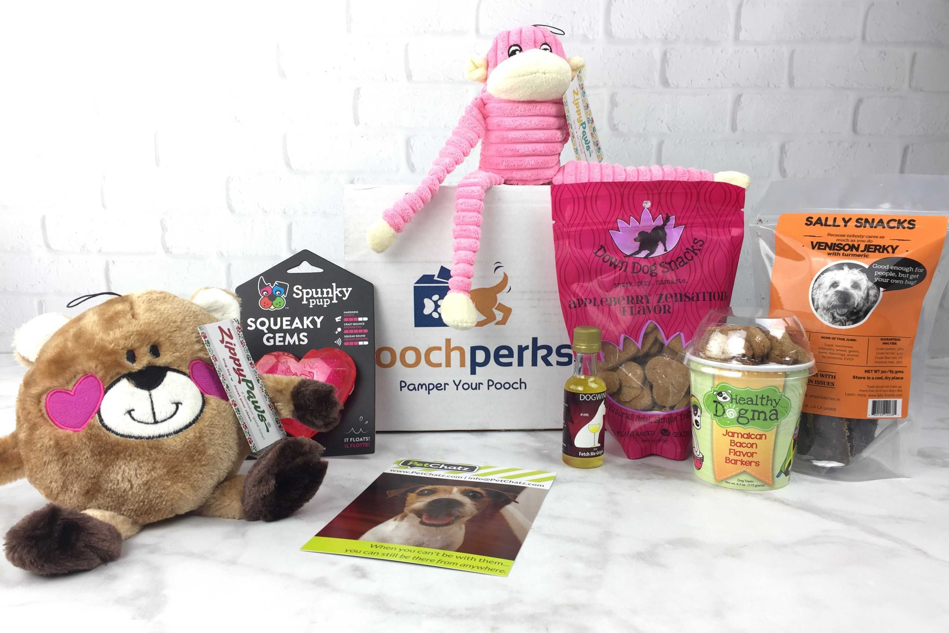Pooch Perks February 2017 Subscription Box Review + Coupon!