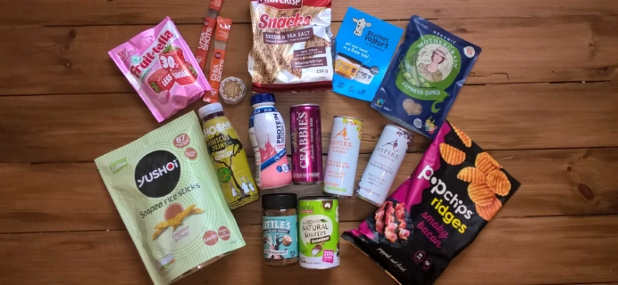 DegustaBox UK January 2017 Subscription Box Review