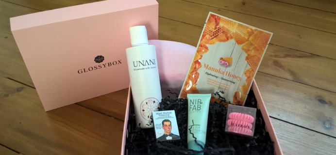 GLOSSYBOX UK Subscription Box Review & Coupon – January 2017
