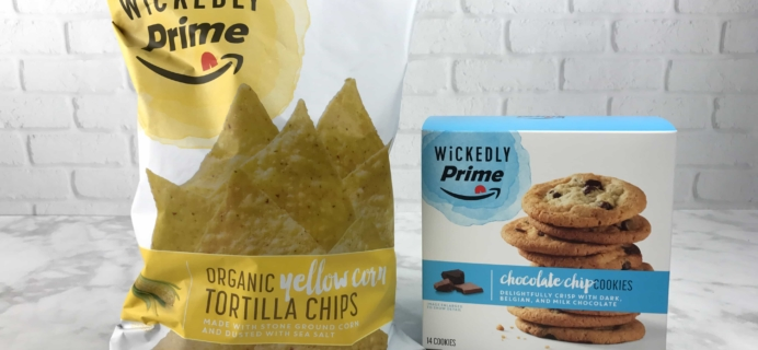 Wickedly Prime Review – Yellow Corn Tortilla Chips & Chocolate Chip Cookies