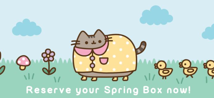 Pusheen Box Waitlist Open – Subscribe for Spring 2017 Box!