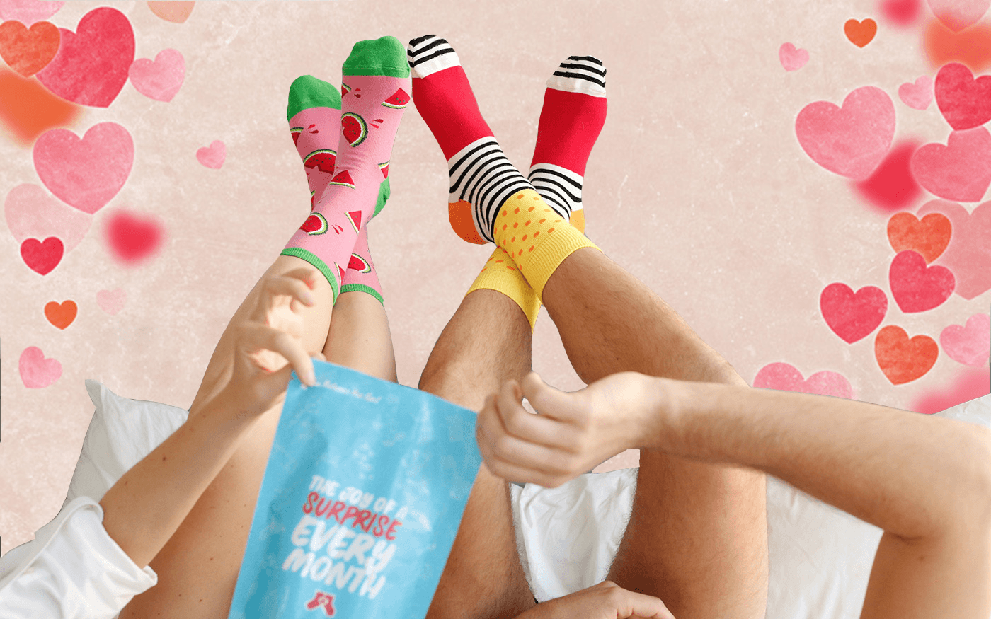 Say It With A Sock Valentine's Day Deal: FREE Socks with Subscription!