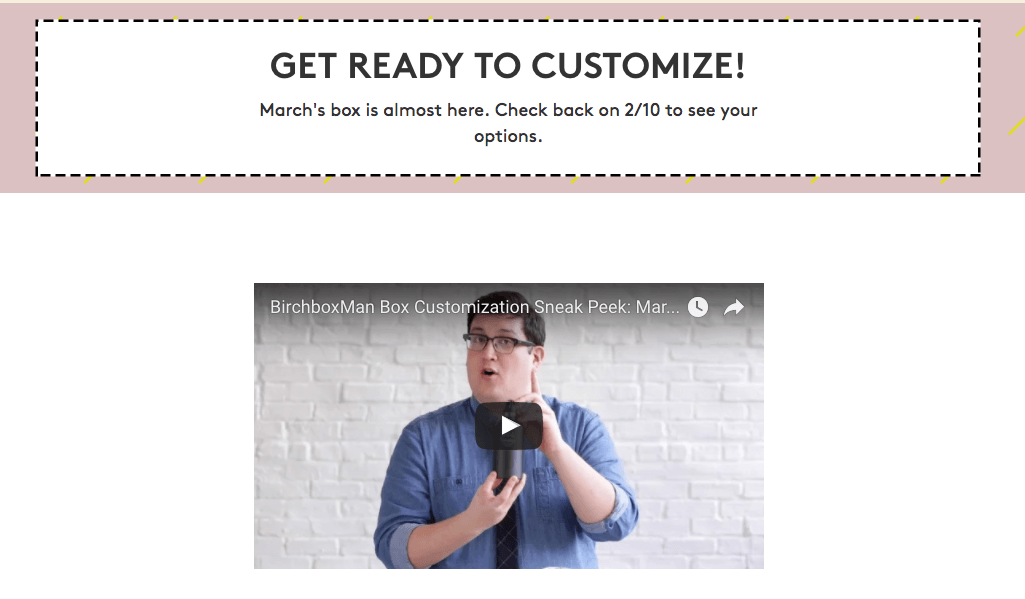 March 2017 Birchbox Man Sample Choice Spoilers & Coupon