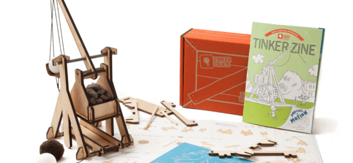 Tinker Crate February 2017 Sneak Peek + Coupon!