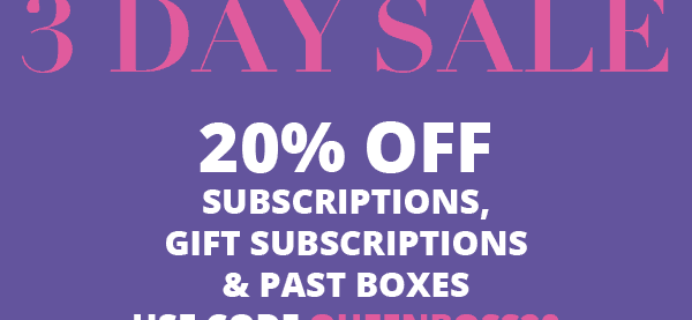 Cocotique Sale – 20% off all Subscriptions!