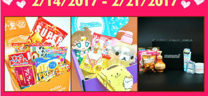Tokyo Treat & Yume Twins & NMNL Valentine's Day Coupons: Save Up to $20 On Subscriptions!