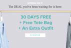 Last Call: FREE Gwynnie Bee Month + Free Tote Bag (Plus Past Member Deal Too!)