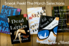 1 Day Left for March 2017 Book of the Month Selections + First Book $5 Coupon