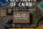 Cairn Coupon: Free Box With 6 Month Subscription!