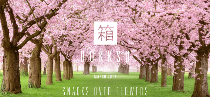 Bokksu March 2017 Spoilers + Coupon!