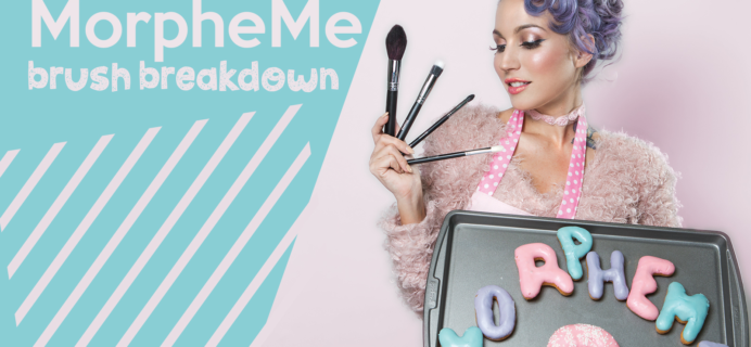 MorpheMe March 2017 Brush Club Spoilers + Coupon!