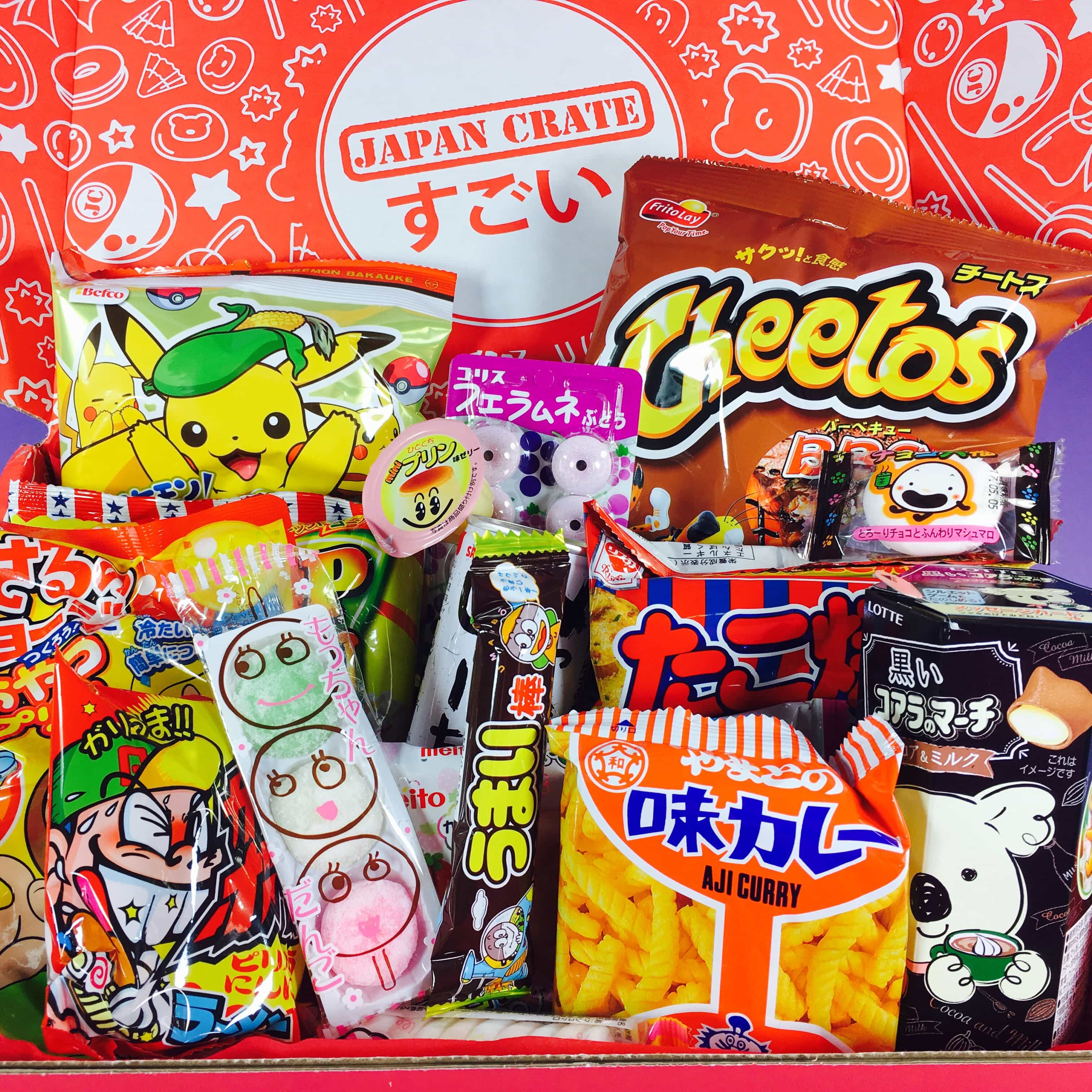 Japan Crate February 2017 Subscription Box Review + Coupon