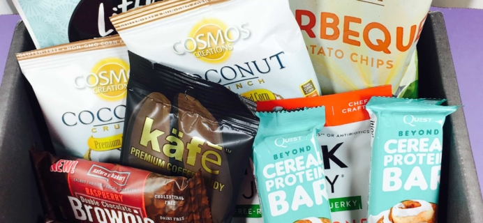 Snack Sack February 2017 Subscription Box Review & Coupon