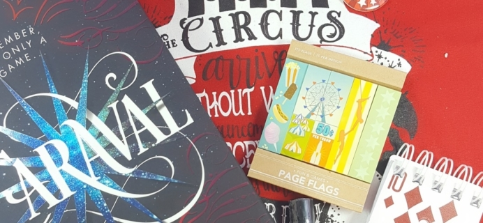 OwlCrate February 2017 Subscription Box Review + Coupon