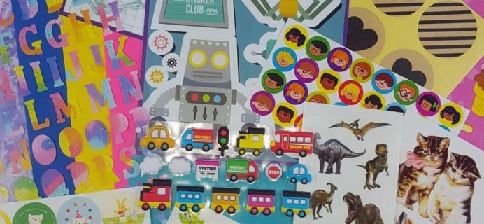 Pipsticks February 2017 Kids Club Sticker Subscription Review & Coupon