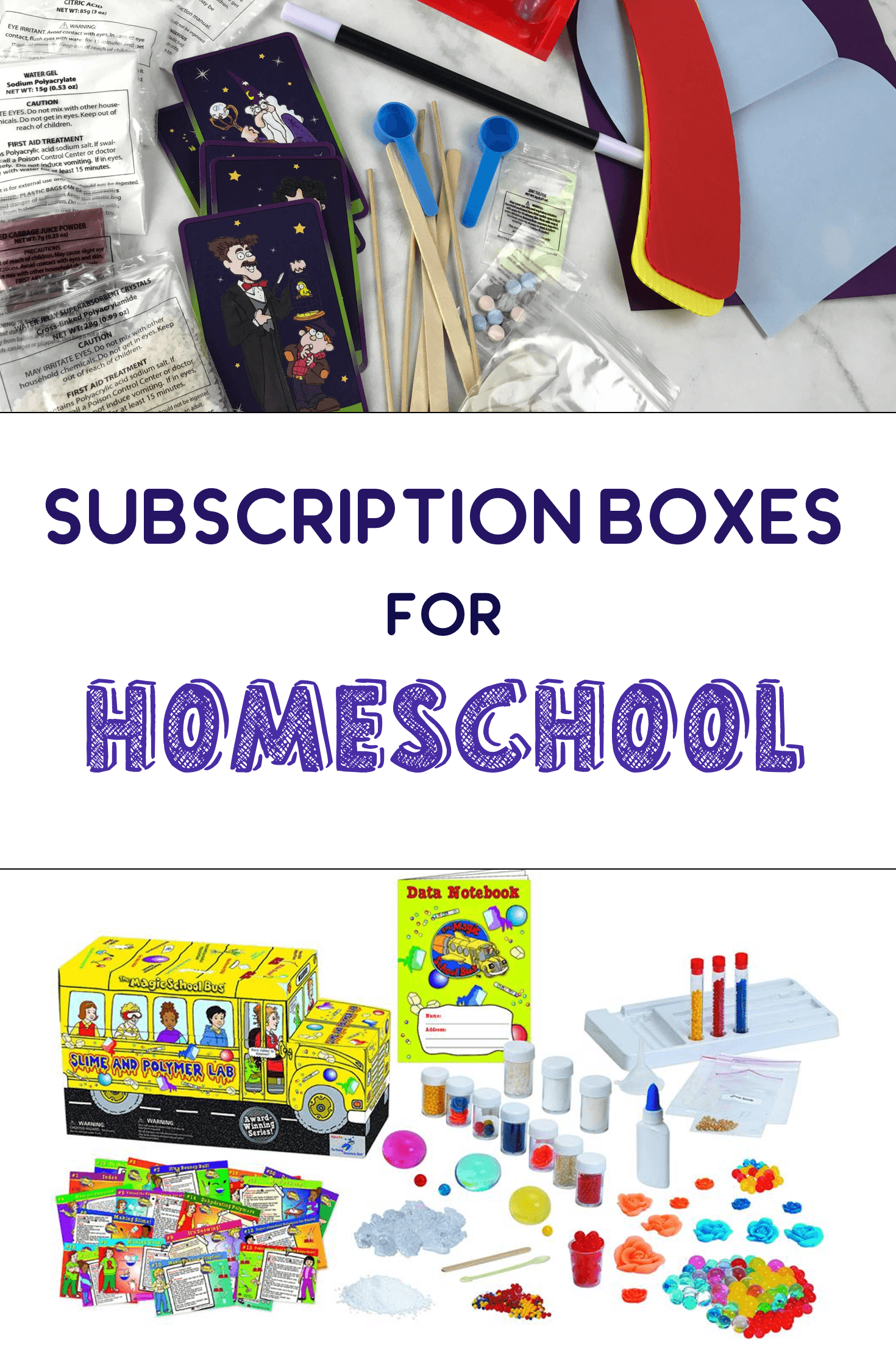 Best Subscription Boxes for Homeschoolers