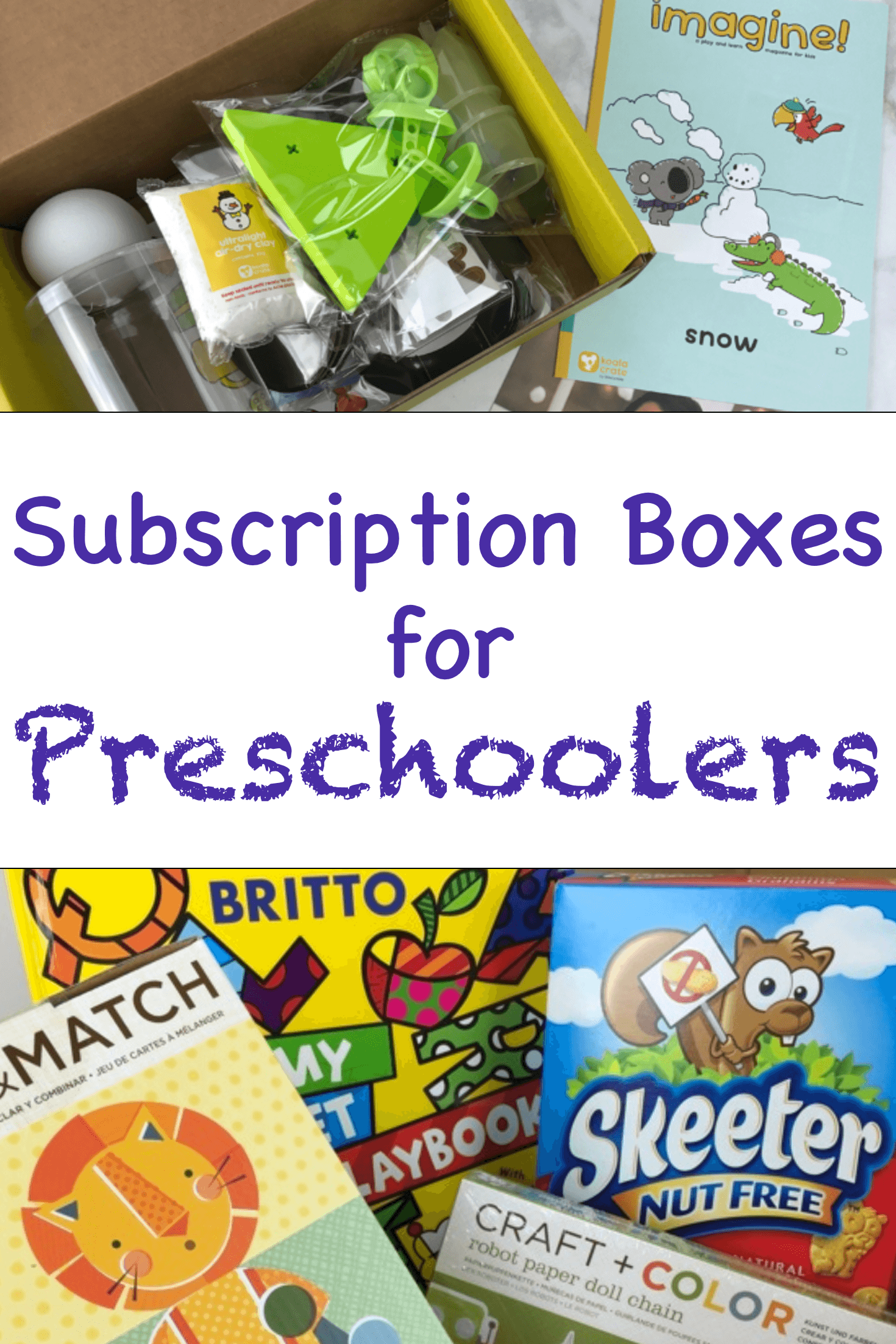 12 Amazing Craft & Activity Subscription Boxes for Preschoolers