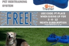 Pet Treater Coupon: Free Pet Restraining System With Subscription!