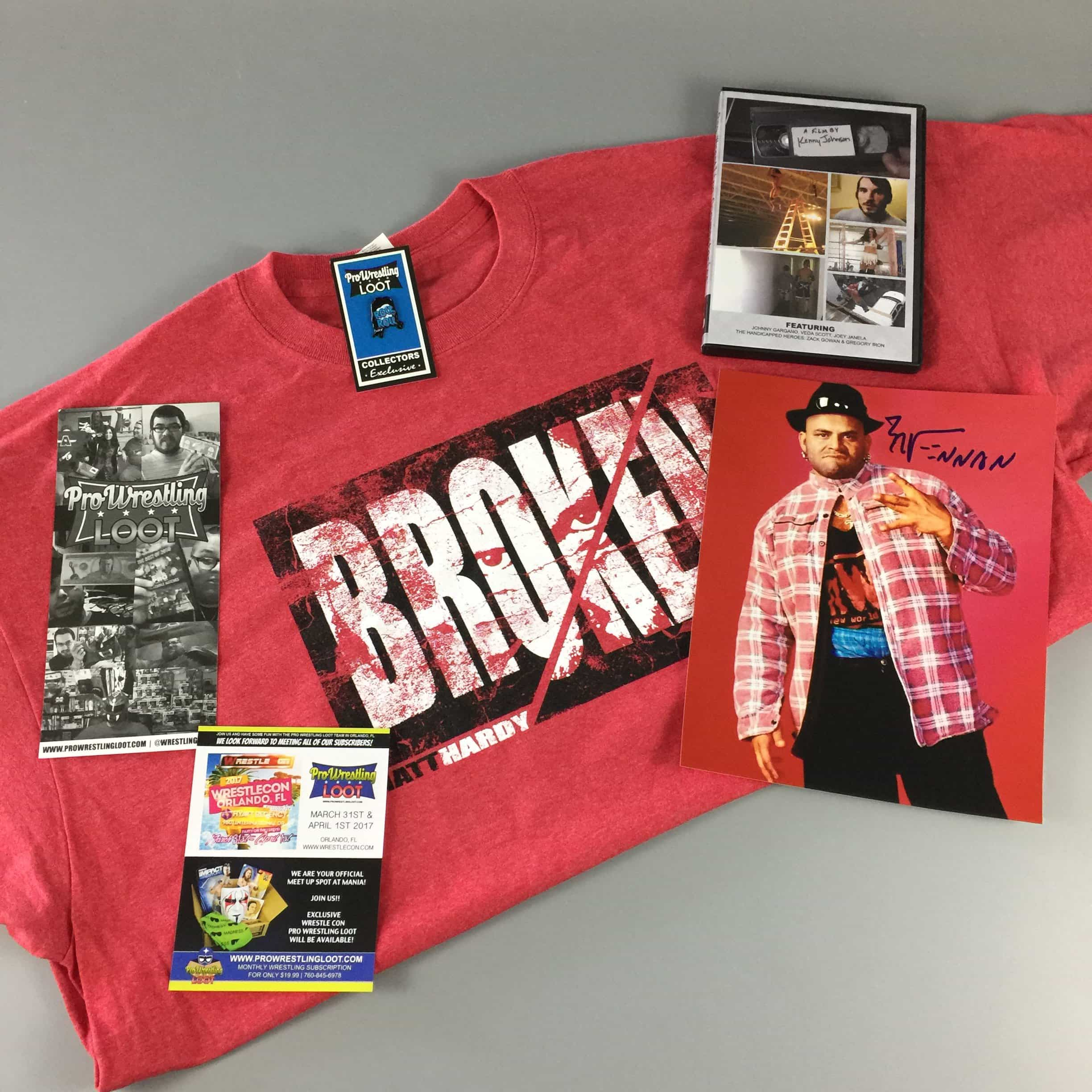 Pro Wrestling Loot March 2017 Subscription Box Review + Coupon