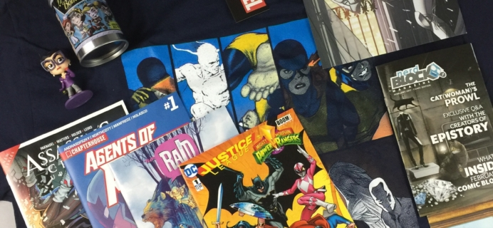 Comic Block Subscription Box Review & Coupon – February 2017