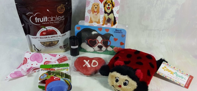 Wigglebutt Box Dog Subscription Box Review – February 2017