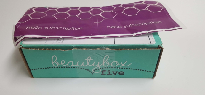 Beauty Box 5 March 2017 Subscription Box Review & Coupon