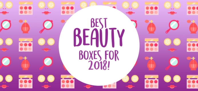 Top Must-Try Beauty Boxes for 2018!