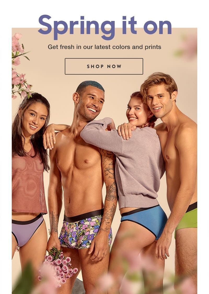 MeUndies New Spring Designs Available Now!