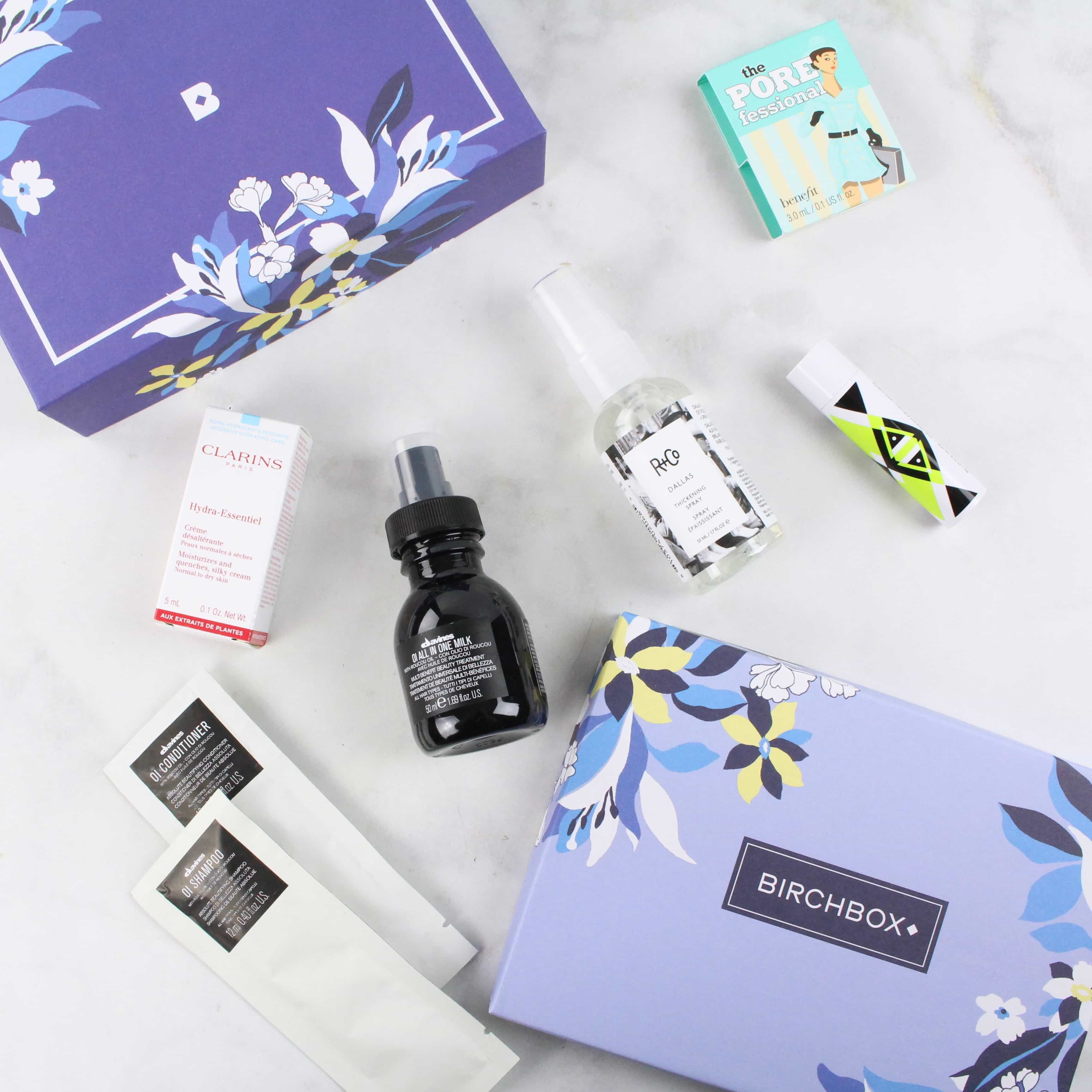 7e9b719e1a3 BirchBox is a discovery box that will send you 5 samples and deluxe size  makeup, skincare, and hair care products (with an occasional full-size  item!)