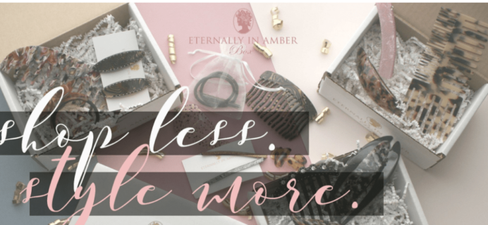 Eternally In Amber Box May 2017 Deal!