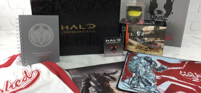 Halo Legendary Crate February 2017 Subscription Box Review + Coupon