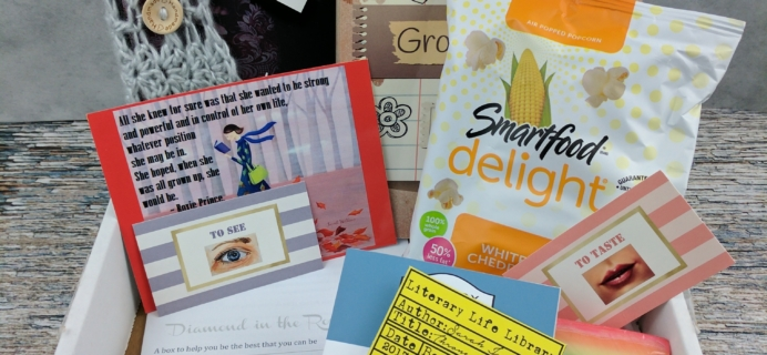 Literary Vacation Club Subscription Box Review + Coupon – February 2017