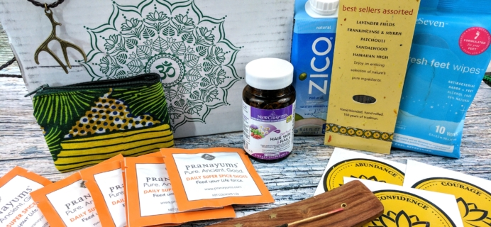 BuddhiBox Yoga Subscription Box Review + Coupon – March 2017