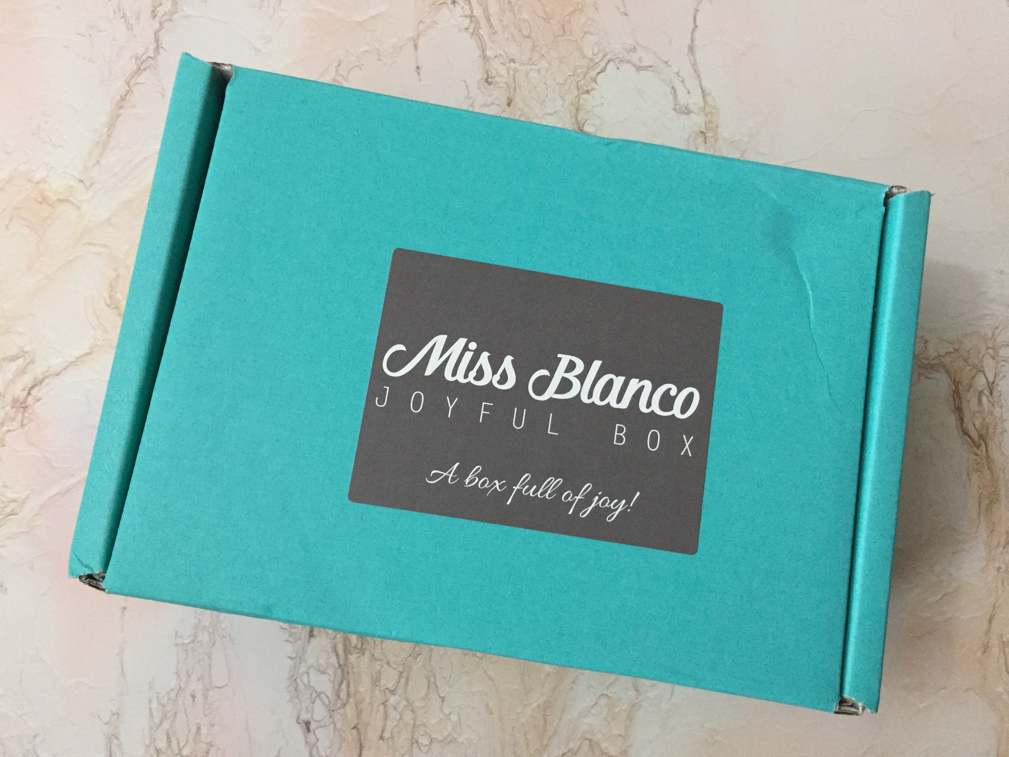 Miss Blanco Joyful Box February 2017 Subscription Box Review + Coupon