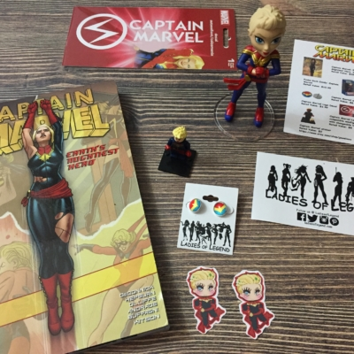 Ladies of Legend March 2017 Subscription Box Review + Coupon