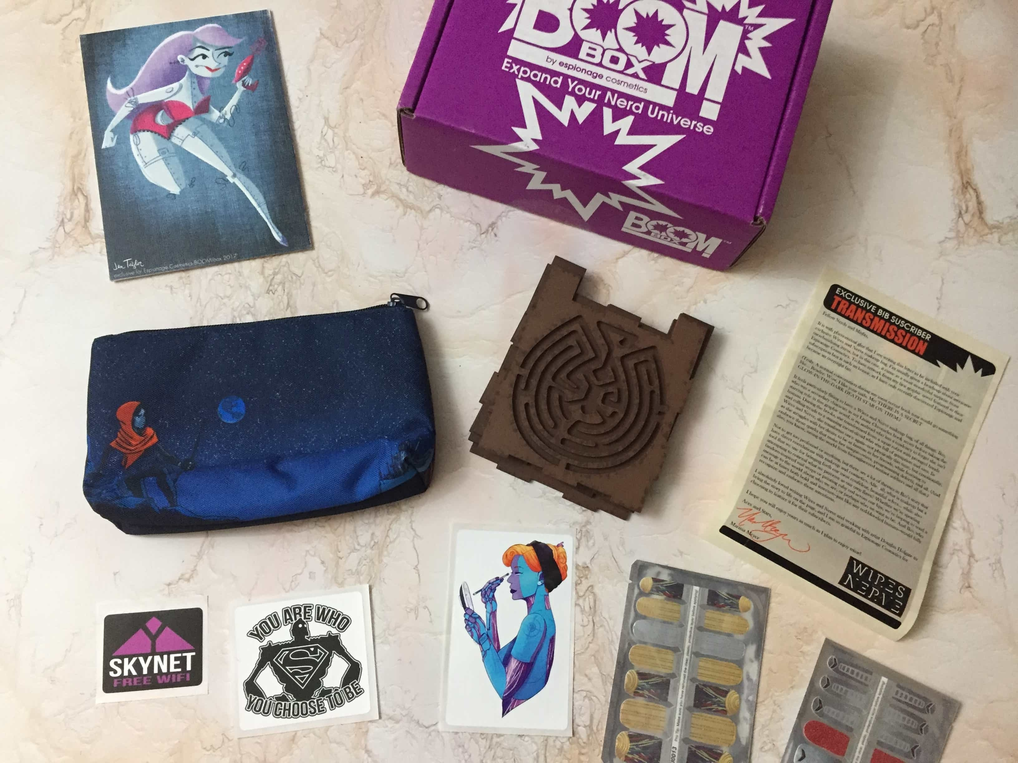 EC BOOM! Box March 2017 Subscription Box Review & Coupon