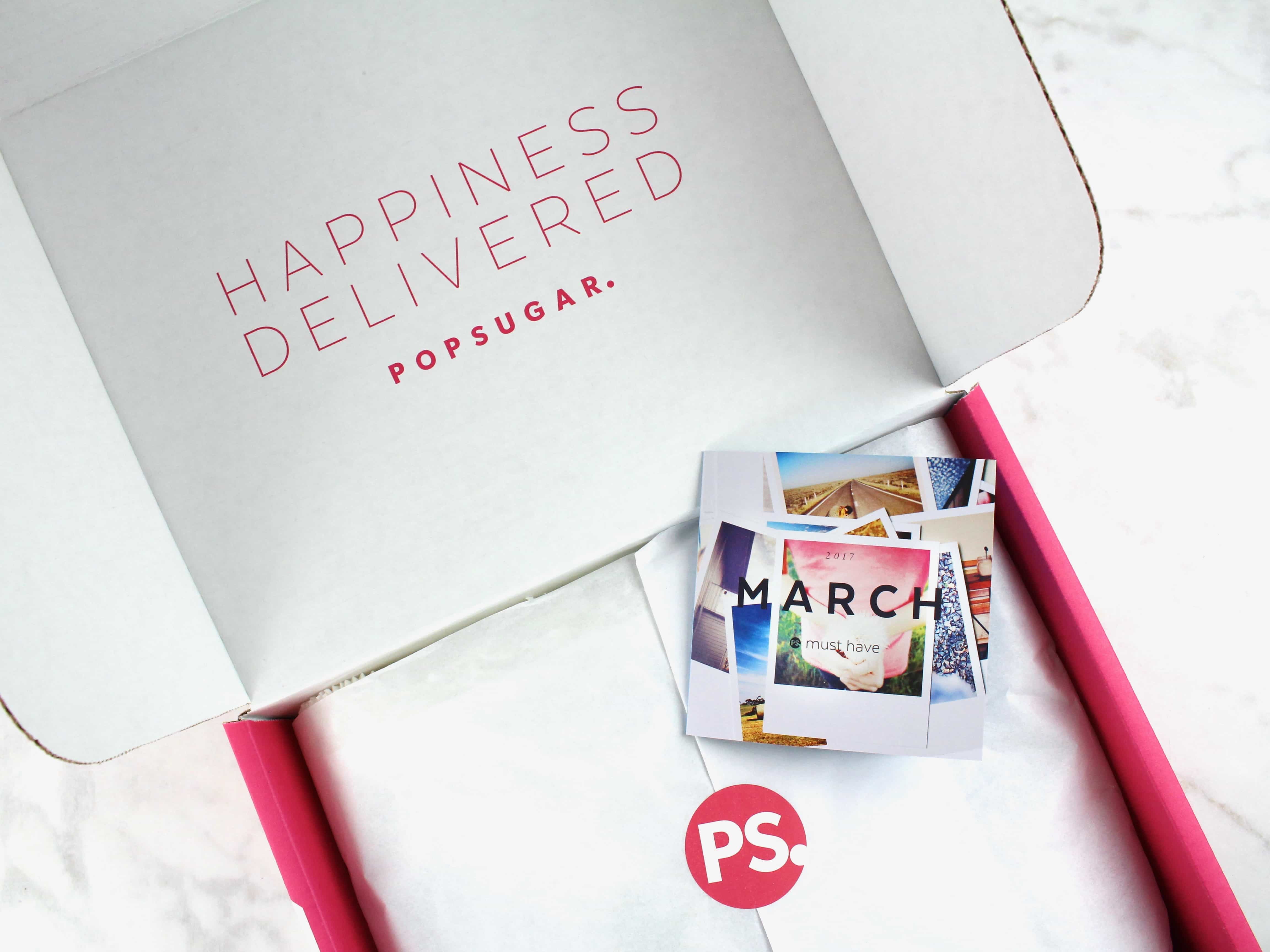 POPSUGAR Must Have Box March 2017 Review & Coupon